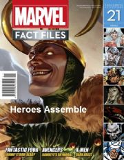 Marvel Fact Files #21 Eaglemoss Publications